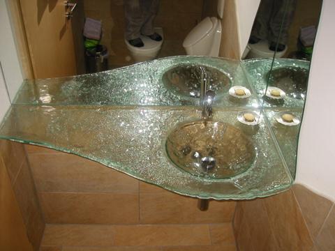 Glaswaschtisch